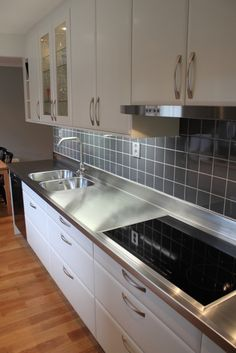 edelstahl arbeitsplatte, arbeitsplatte edelstahl ... - Edelstahl Arbeitsplatte Küche