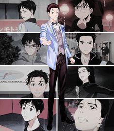 Yuri on ice Katsuki Yuri, Yuuri Katsuki, Love On Ice, ユーリ!!! On Ice, Yuri Plisetsky, Kyushu, Yuri On Ice Comic, Manga Anime, Anime Guys