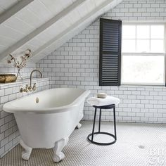 Bathroom Tile Grout Guide - Choose The Right Bathroom Tile Grout Color | With the stark nature of white, it can be a challenge to find a grout color that goes well with the space, and there are a few different options that might work for you depending on your goals for a bathroom remodel.
