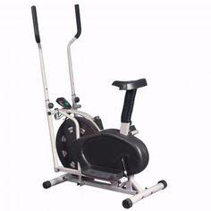 Maquina Multifunción con Asiento 3 en 1 - Eliptica + Estacionaria + Bicicleta…