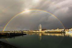 Rainbow  on La Rochelle by Jean Marc Vaillant on 500px