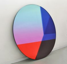 Brit Van Nerven and Sabine Marcelis; 'Bid Round' Mirror, 2015.