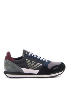 $180.0. EMPORIO ARMANI Sneaker Ripstop Nylon Sneakers #emporioarmani #sneaker #suede #shoes