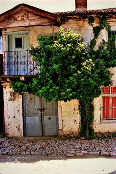 Psarades village near Prespa Lake-Greece by Vasilis Anastasiadis Republic Of Macedonia, City Architecture, Surface Area, Greece Travel, Albania, Fresh Water, National Parks, Europe, Sun