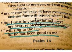 unfailing love!