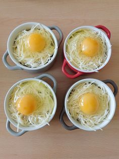 Salad recipes 640566746975437330 - Oeufs cocottes jambon et champignons Batch Cooking, Easy Cooking, Cooking Eggs, Cooking Cake, Egg Recipes, Gourmet Recipes, Salad Recipes, Healthy Dinner Recipes, Healthy Snacks