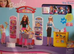 Barbie Toy Store Playset w Mini Toys! (1999) by Mattel. $39.99
