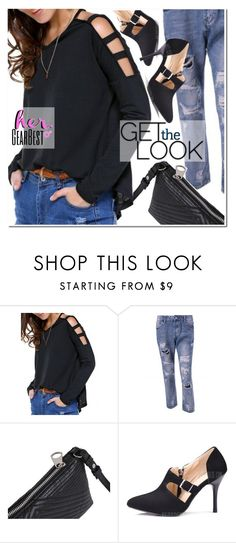 """""""Get the Look - Her GearBest"""" by ansev ❤ liked on Polyvore featuring lkid"""