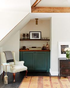 A renovated 1800s-era Tudor home