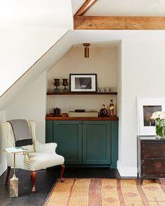 A renovated 1800s-era Tudor home