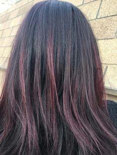 Red balyage @alanas_hair