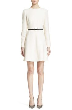 VALENTINO Crepe Couture Dress. #valentino #cloth #