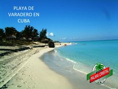CERVEZA PALMA CRISTAL TE DICE QUE ES VARADERO Varadero es una de las mejores playas del  mundo, y es fácil ver por qué. Si lo que tienes en mente es consentirte un poco, existe gran número de lugares que te ayudarán a relajarte. Las relucientes arenas blancas, las frescas brisas tropicales y las tranquilas aguas ofrecen un lugar perfecto para turismo, cuenta con hoteles de varias categorías. www.cervezasdecuba.com