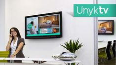 The new vision of signage, create your advertising channel and control it anywhere!   unyk.tv