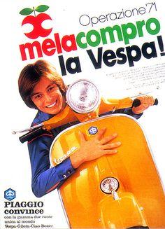vintage everyday: Vintage Vespa Advertising Aroud The World