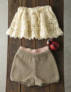 0654619394a0e  楽天市場 作品♪212ss-30ベビーのパンツ&オーバースカート: · 幼児向けドレスかぎ針編み ...
