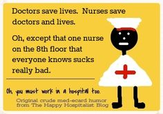 See other funny nurse importance ecards...