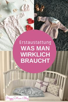 Original equipment for newborns - what you really need-Erstausstattung für Neugeborene – was man wirklich braucht Even in the pregnancy, you still worry about the baby& initial equipment. You can find what you really need on this list. Baby Must Haves, Camping Ideas, Baby Room Boy, Parents Room, Baby Care Tips, Baby Arrival, Nursery Design, Baby Hacks, Baby Registry