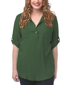 Another great find on #zulily! Hunter Elliot Tunic - Plus by Thread & Butter #zulilyfinds