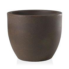 2 x X Large 55cm Round Bell Plant Pot Planters Plastic Black Colour Garden Pot