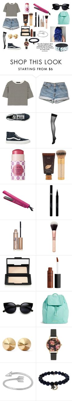 """Candy Castle"" by kathrynclifford on Polyvore featuring TIBI, Vans, L'Agent By Agent Provocateur, tarte, José Eber, Sisley, NARS Cosmetics, Vera Bradley, Eddie Borgo and Olivia Burton"