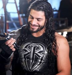 Roman Reigns and Seth Rollins star in the commercial for Mattel's mix-and-match Create a WWE Superstar action figures and Ring Builder playset. Check out these exclusive photos from the shoot. Wwe Roman Reigns, Roman Reigns Smile, Wwe Superstar Roman Reigns, Seth Rollins, Roman Reighns, Wrestling Superstars, Wwe World, Mattel, My Guy