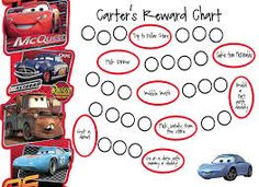 image result for potty chart templates cars