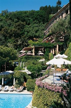 Hotel Splendido-Portofino-Italy. We were lucky enough to spend three nights at this beautiful hotel!