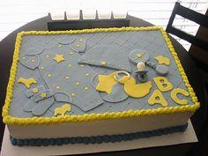 http://cakedecoratingcoursesonline.com/cake-decorating/ Baby things cake. #Create Your Own #Baby #Shower #Cake - Join Unique #Online Cake #Decorating #Courses on http://cakedecoratingcoursesonline.com now!