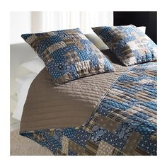 Saw it at Elizabeth Ikea and LOVED IT! FRÄKEN Bedspread and cushion cover - Twin/Full (Double) - IKEA