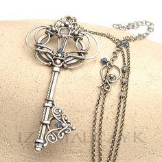 Celastrina Argiolus key pendant by Iza Malczyk: http://www.izamalczyk.com/en/gallery-1-537-3896.html