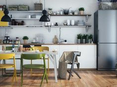 Yellow Kitchen Designs that are so bright and brautiful that you want to go WOAHHH!
