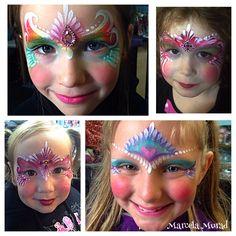 Practice your teardrops for fast and pretty Princess designs! Www.sillyfarm.com