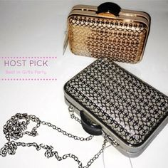 Hp 11/21  Best In Gifts Party! Metallic Clutch