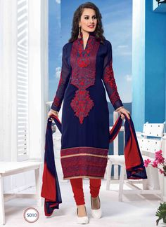 Beautiful Party Wear Georgette Salwar Suits Only on www.wholesalesalwar.com
