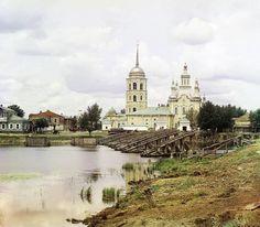 Уникальные цветные фото Российской империи начала ХХ века