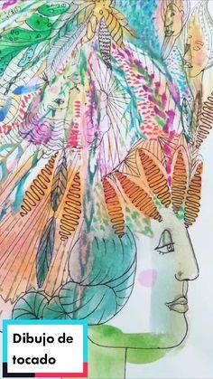 Litca(@litca.art) on TikTok: Penacho o tocado indígena #art #warbonnet #venezuelanartist #10kartist #watercolor #dibujo #people #draw #indigenous #color #artist Draw, Watercolor, Artist, Artwork, People, Painting, Design, Fascinators, Dibujo