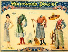 Hollywood Dollies 1925 | Gabi's Paper Dolls