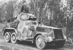Swedish armoured car, pin by Paolo Marzioli