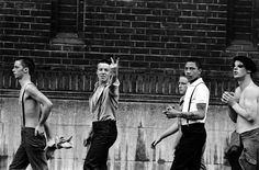 Vintage street style > Skinheads flicking the V's #skins #Oi! #skinhead