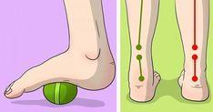 Sexx enkla övningar för att hjälpa dig med knä, fot och höftsmärta! Har du fotsmärtor, knäproblem eller höftproblem, prova dessa enkla knep.