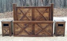Rough Country Rustic Furniture on Pinterest