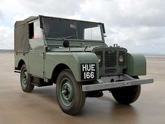 HUE 166 (Huey) Oldest Surviving Land Rover.