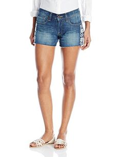 Lucky Brand Women's The Cutoff Short In Rosewood ** Click on the image for additional details. (This is an affiliate link) #Shorts