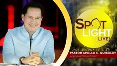 Watch another episode of Pastor Apollo C. Quiboloy's newest program, SPOTLIGHT. For your messages and queries, you can comment it down below so our Beloved P. Kingdom Of Heaven, T Lights, New Program, January 13, Son Of God, Apollo, Spotlight, Spirituality, Knowledge