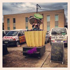 """@georgipaech's photo: """"Peaches 'n' Gin at the #adlfringe launch"""""""