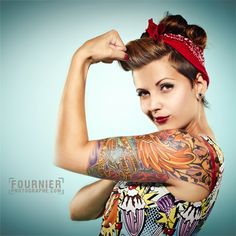 Pin Up & Glamour is a huge part of the People and Portrait Photography Gallery here on deviantart. People + Portraits - The Pin-Up and Glamour Rockabilly Pin Up, Rockabilly Moda, Rockabilly Fashion, Rockabilly Tattoos, Rockabilly Clothing, Rockabilly Outfits, Tattoo Girls, Girl Tattoos, Tatoos