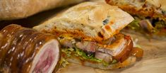 Porchetta szendvics • TV Paprika Ciabatta, Sandwiches, Food, Meals, Paninis, Yemek, Eten