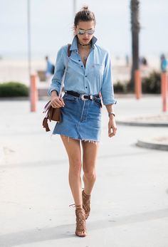 denim on demim!