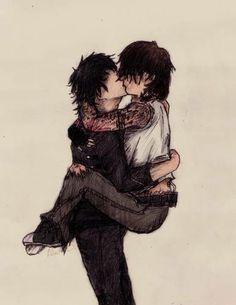 Gerard and Frank. Art. soooooooo F---ING perfect.....